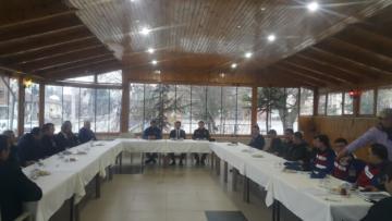 'TRAFİK GÜVENLİĞİ TOPLANTISI' YAPILDI