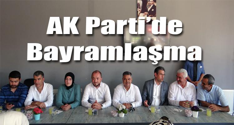 GÖLPAZARI AK PARTİ'DE BAYRAMLAŞMA